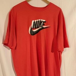 Nike Tee Athletic Cut Red Watermelon Size 2XL